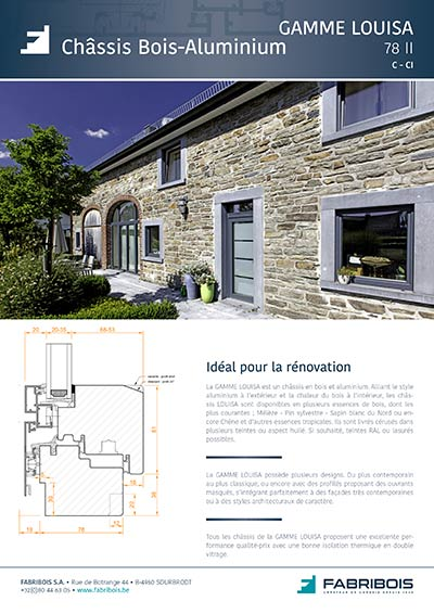 Gamme LOUISA<br /> Rénovation